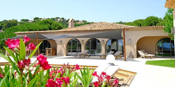 Villa Belvedere in Sainte Maxime