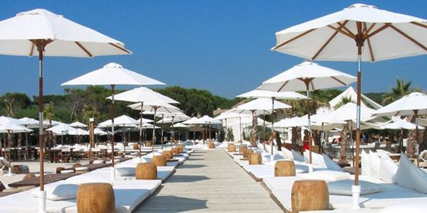 See And Be Seen At Plage Pampelonne The Beach Of The Rich And