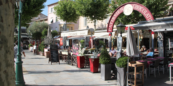 Sainte-Maxime boulevard