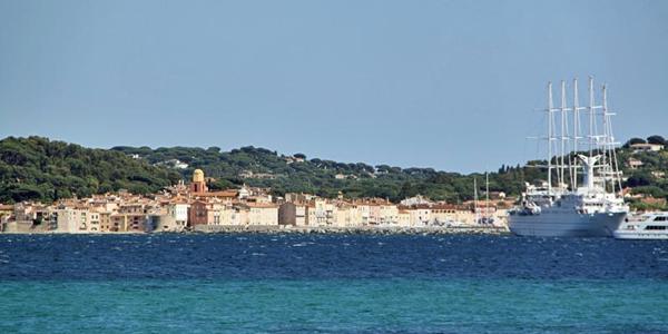 Sainte-Maxime vanaf zee