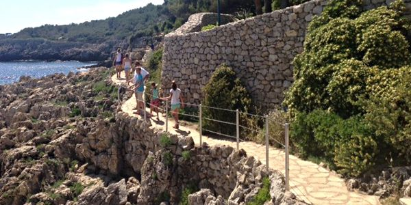 Wandeling Sentier du Littoral Antibes