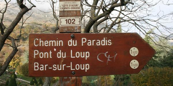 Chemin du Paradis Gourdon