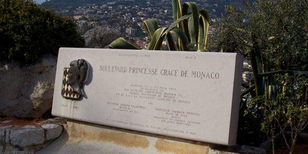 Gedenkteken prinses Gracia