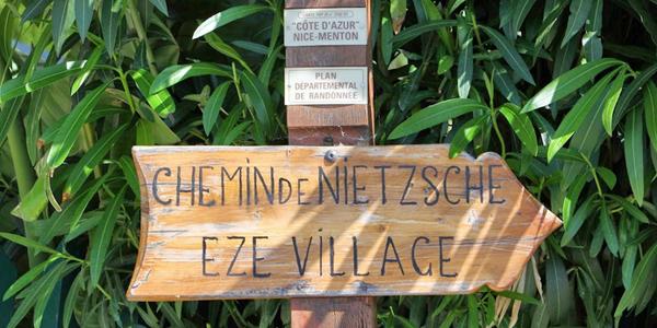 Nietzsche pad in Eze
