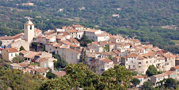 Ramatuelle dorp
