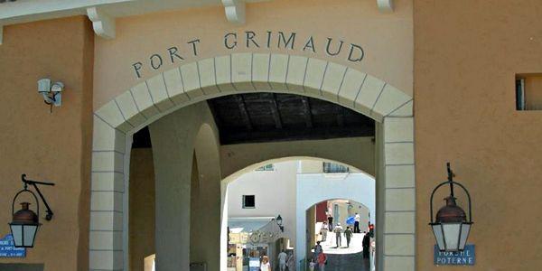 Toegang Port Grimaud